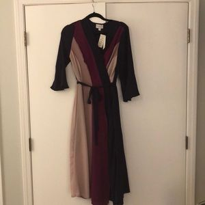 Label by 5 twelve dress faux wrap dress